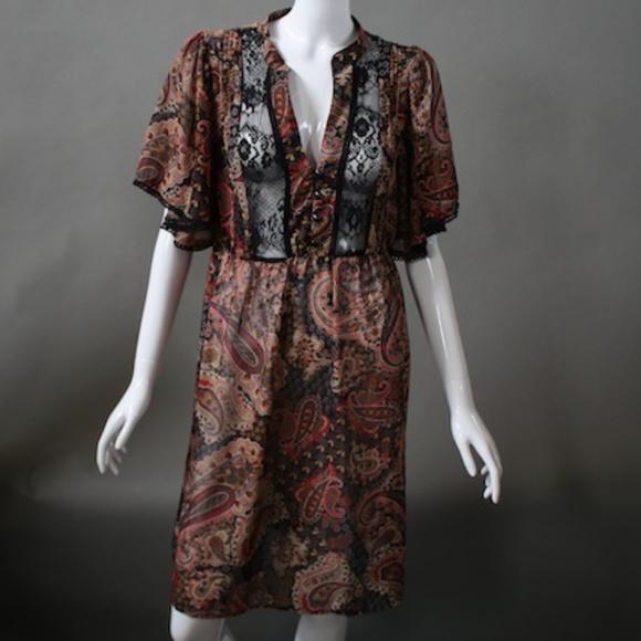 As U Wish Dresses & Skirts - Flirty Paisley Dress